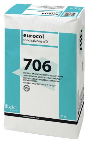 Eurocol 706 Speciaalvoeg WD antraciet 23 kg-0
