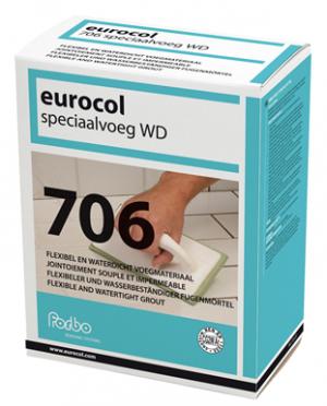 Eurocol 706 Speciaalvoeg WD grijs 5 kg-0